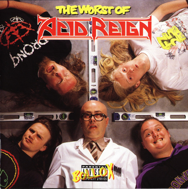 Acid Reign Worst Of Acid Reign Cd Cdflag60 Music