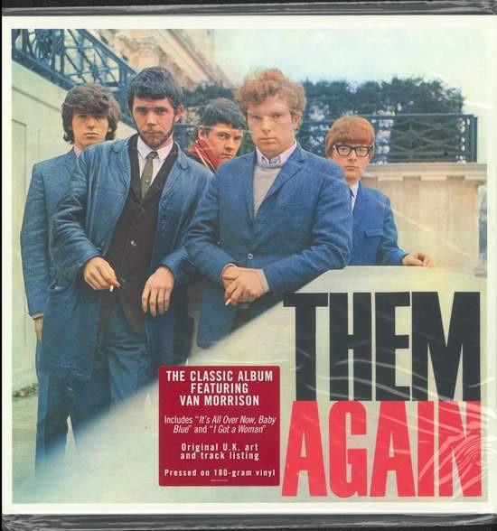 Them Van Morrison Again Lp 180g Vinyl Music Mania