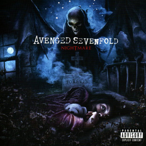 cd avenged sevenfold nightmare