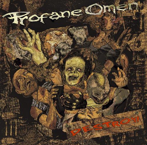 Profane Omen Destroy Cd Music Mania Stoke New