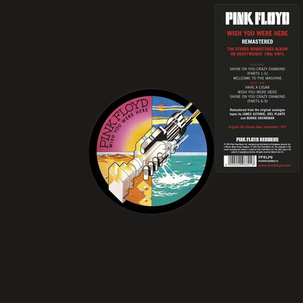 Pink Floyd - Wish You Were Here LP [PFRLP9] *2016*